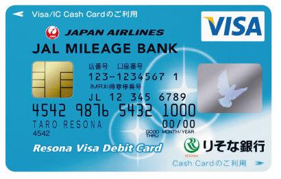 risonaデビットカード