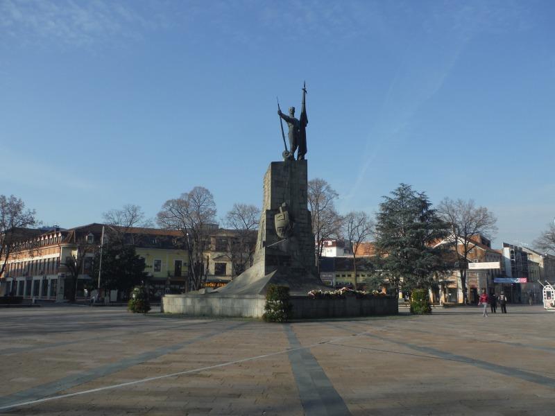 クラリエボの広場