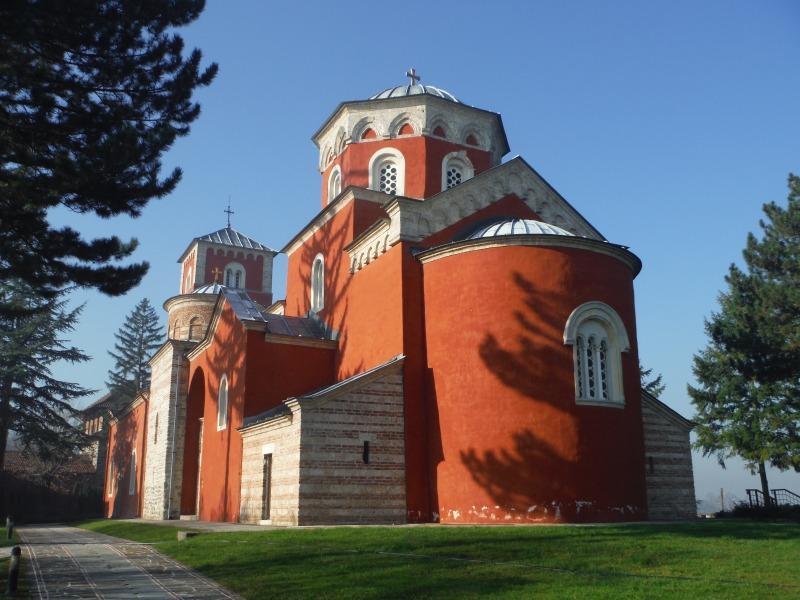 セルビアのジチャ修道院