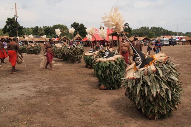 パプアニューギニア マスクフェスティバル